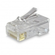 Connector RJ45 8P8C Cat 5e for twisted pair