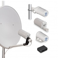 Router Kroks Rt-Pot sHw DS RSIM built-in antenna with modem Huawei E3372 with SIM-injector
