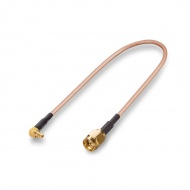 Pigtail (cable assembly) MMCX - SMA(male)