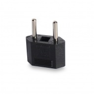 Adapter for connecting American and European type plugs